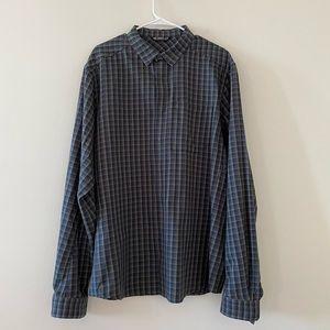 Arcteryx flannel button down shirt size XL